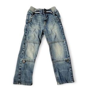 4T Oshkosh Denim Jean's Convertible